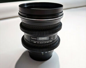 Duclos /Tokina 11-16mm F2.8 Nikon Lens with Cinema Gears- Duclos
