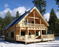 WANTED Carpenter or individual able to construct log cabin