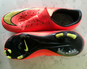 Nike Mercurial soccer cleats size 4.5
