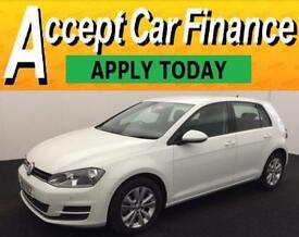 Volkswagen Golf 1.6TDI ( 105ps ) ( s/s ) 2013MY SE FROM £53 PER WEEK!
