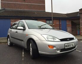 2000 W Reg Ford Focus Collection Edition 1.8 16v **Drives nicely, 5 months MOT**