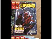 Spiderman comic books Issues 1-35