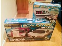 Scalextric Digital Supercars with Digital Lap Counter