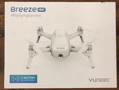 Yuneec Breeze Drone 4K Video Seller Refurbished Authentic Usa Seller