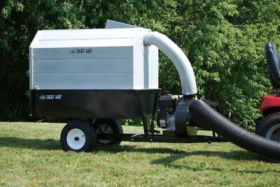 Trac Vac 580 Pro Lawn Mower Bagger Vacuum Pull Behind 6.5 hp Briggs Leaf Trailer for sale  Brooten