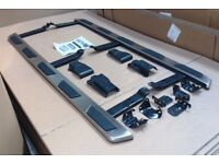 Side Steps Audi Q3 Alluminum + Rubber Padded Side Steps Running Boards Side Bars