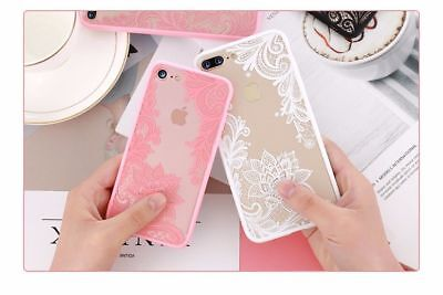 Apple iPhone Case Skin iPhone 6 6S 7 7 Plus 8 Black Pink White Rubber Plastic
