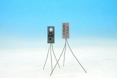 Matched Ac193k Ac194k Sgs Complementary Pair Germanium Transistors Ac188 Ac187