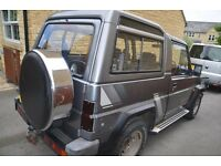 Daihatsu Fourtrak Fieldman Petrol Rare 1992 (K reg) Alloys alone worth £600.00 pounds .