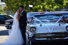 GRAND TOURER 1957 CHEVY WEDDING CAR HIRE MELBOURNE Airport West Moonee Valley Preview