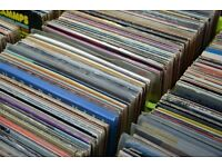 Full Vinyl Record Collection, Turntable & Phono Amp