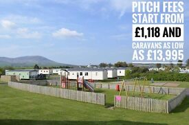 SITE FEES FROM ONLY £1,118 - CHEAP CARAVAN-SOUTHERNESS-SCOTLAND-NEAR CARLISLE-AYR-GLASGOW-NEWCASTLE