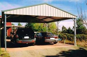 Tristeel Carport 6x6 Warwick Southern Downs Preview
