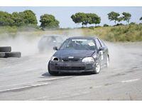 Honda Civic Rallycross / Track car 1.6 Vtec repair