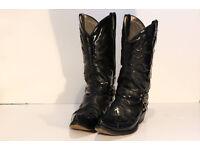 New Rock Cowboy Boots