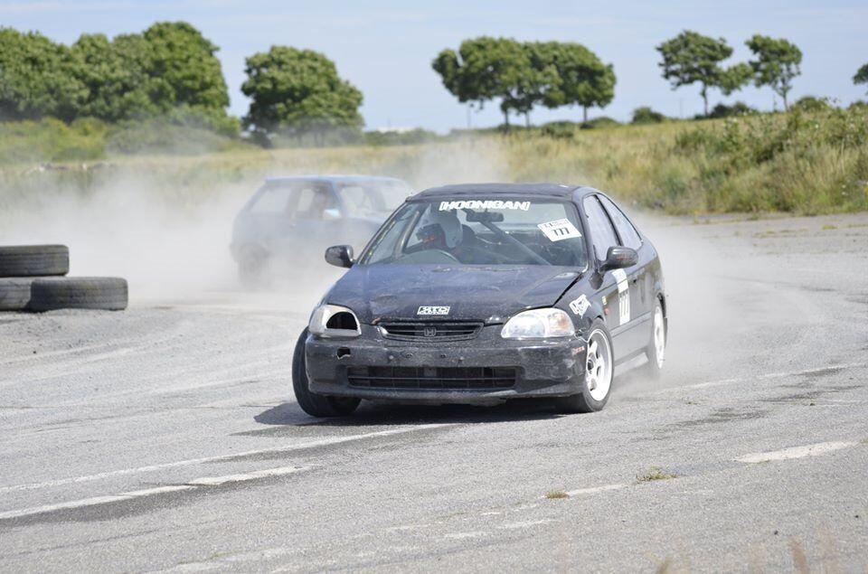 Honda Civic Rallycross / Track car 1.6 Vtec repair swap p/x