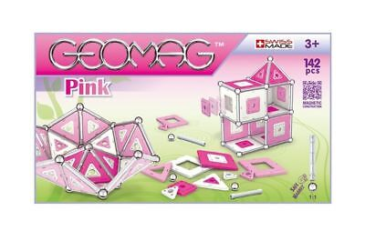 Geomag KIDS PINK 142 Construction System Magnetic Toy Set SWISS MADE ~ NEW