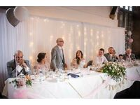 Wedding decorations and chair covers