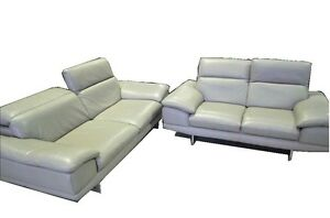 3 n 2 seater leather sofa lounges South Yarra Stonnington Area Preview