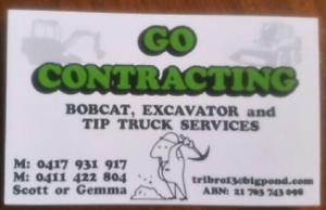 All Earthworks ,Bobcat,Excavator, Tipper truck services