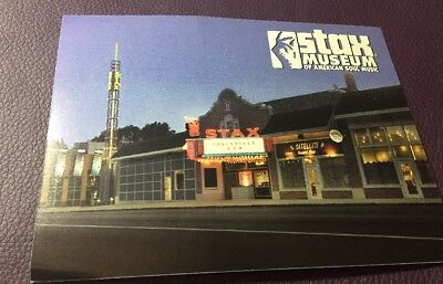 Stax Museum American Soul Music MEMPHIS Tennessee Postcard Post Card