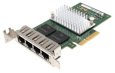 Fujitsu Quad Port Gigabit Netzwerkkarte // Low Profile // PCIe x4 // D2745-A11