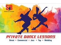 Private Dance Lessons - Learn with an enthusiastic, experienced teacher working in the industry.