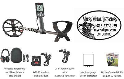 """Minelab EQUINOX 800 Metal Detector EQX 11"""" & 6""""  DD Smart Coils Fast Free Ship"""
