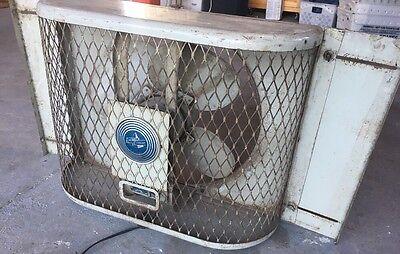 Emerson Electric Vintage Window Fan - Works -Steampunk