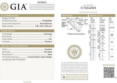 15 carat Round Diamond Tennis Bracelet 18k Gold 37 x 0.40 ct GIA cert. E-F VS 3