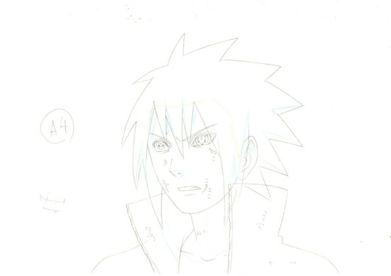 Anime Douga not Cel Naruto #307