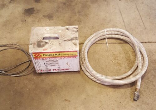Lex Aire LX-30C Turbine 60 CFM HVLP USA Mobile Refinisher with hose