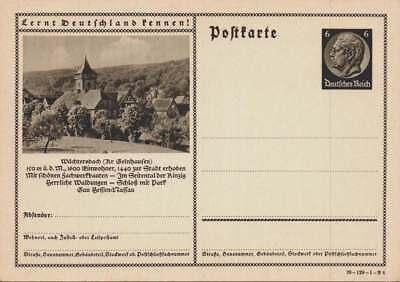 D.Reich Ganzsache P 236 WÄCHTERSABCH ungebraucht  (43697)