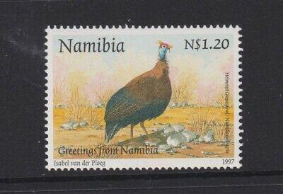 Namibia - 1997, $1.20 Greetings, Guineafowl Bird stamp - MNH - SG 712