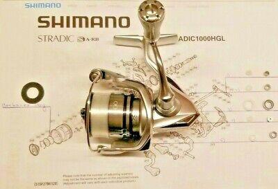 Shimano reel repair parts spool Stradic 8000 FJ