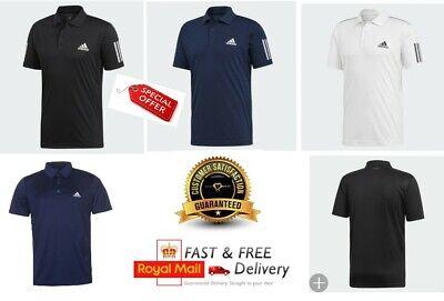 MEN'S Adidas POLO Shirt Short Sleeve Sport Golf Tennis DUO850 S M L XL XXL