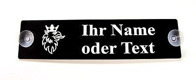Namensschild,Scania,Ihr Name,Lkw Schild,2 Sauger,Truck,Trucker,20 x 5 cm,Gravur