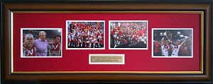 ST GEORGE ILLAWARRA DRAGONS 2010 NRL PREMIERS PHOTOS SIGNED AND FRAMED BENNETT