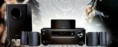 Onkyo HT-S3800 5.1 Heimkinosystem nur Lautsprecher + Sub. ohne Receiver(B6139-4)