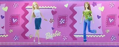 Barbie Ballet Border LK67100 girls wallpaper dancing washable prepasted