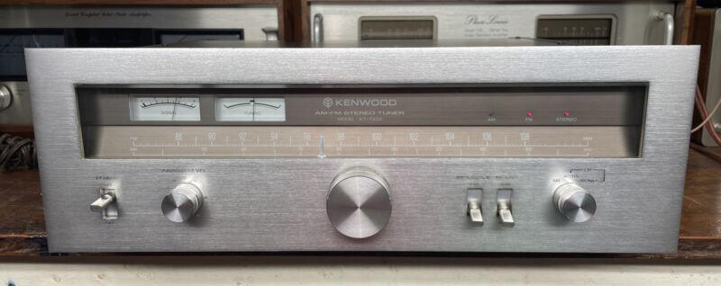 Kenwood KT-7300 Vintage AM/FM Tuner SUPER NICE Condition Tested CLEAN