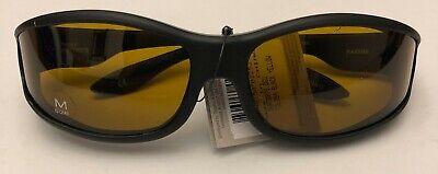 HAVEN POLARIZED FITS OVER SUNGLASSES - TOLOSA BLACK  -  SZ MEDIUM    $8.99 EA (Haven Fits Over Sunglasses)