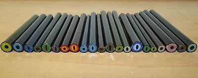 Glassblowing eye murrine/millefiori 77+grams borosilicate coe33 boro lampworking