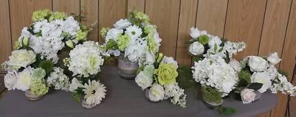 Assorted decorations perfect for weddings. Up to $10