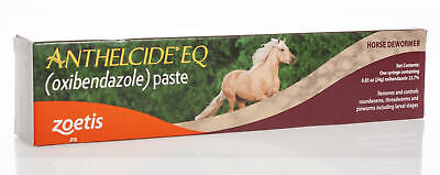 Anthelcide EQ Equine Wormer Paste, 1 ds