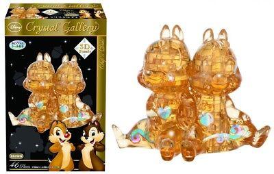 Hanayama 3D Crystal Puzzle Disney Chip and Dale 46 Pcs