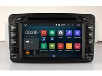 Mercedes-Benz C-W203/CLK-W209 Car CD DVD Player Android 4.4 /GPS/4G internet Full Hd Model