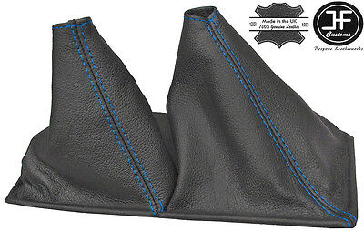 BLUE STITCH 5 SPEED SHIFT BOOT FITS TOYOTA 4 RUNNER 4X4 1990-1995 GREY LEATHER