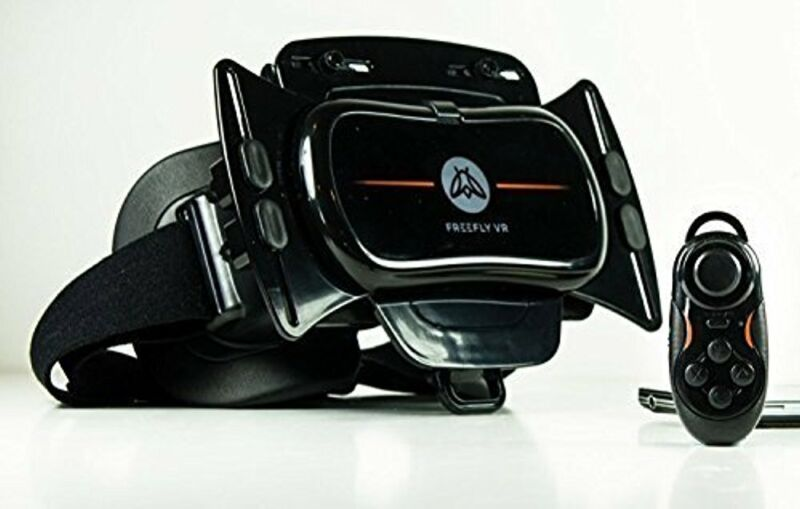 Freefly Mobile Virtual Reality Headset & GLIDE Wireless Bluetooth Controller