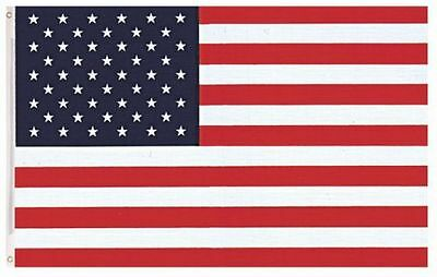 5ft x 3ft USA America Country National Flags Indoor Outdoor Polyester 1 Pack